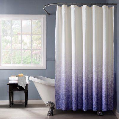 Bungalow Rose Arushi Bungalow Rose Single Shower Curtain Color
