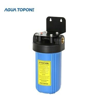 Sponsored Link 10 Inch Water Filter Housing W 1 Brass Inlet Outlets With Mounting Brack In 2020 Water Filter Housings Atmospheric Water Generator Mounting Brackets