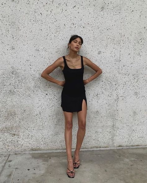 "Reformation on Instagram: ""@discodaydream saving 900 gallons of water just by wearing the Karlie Dress and leaning against a wall. We made it that easy for you guys."""