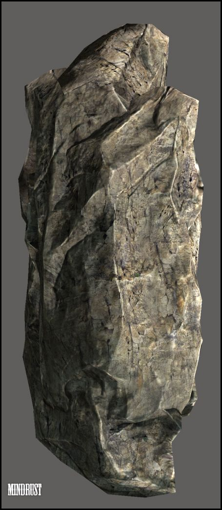 rock model by Mind-Rust | Digital Painting Tutorials | Rock, Fake