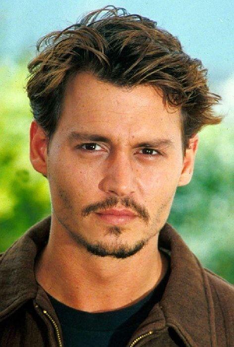 Johnny Depp Semi Short Hair Mens Facial Hair Styles Beard Styles Short Hair And Beard Styles