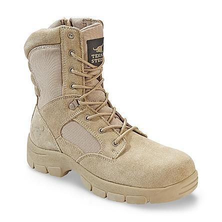 Kamaal 2 Suede Work Boot - Tan   Boots