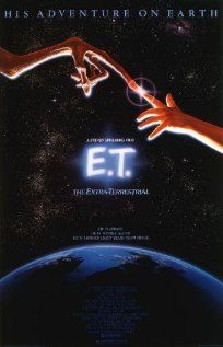 "E.T. (1982) ""A meek and alienated little boy finds a stranded extraterrestrial. He has to find the courage to defy the authorities to help the alien return to its home planet"""