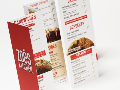 Wild Ginger Japanese restaurant flyer template #menu суши