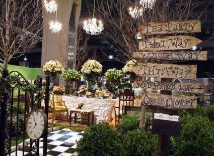 53 Trendy Garden Party Theme Birthday Alice In Wonderland Garden