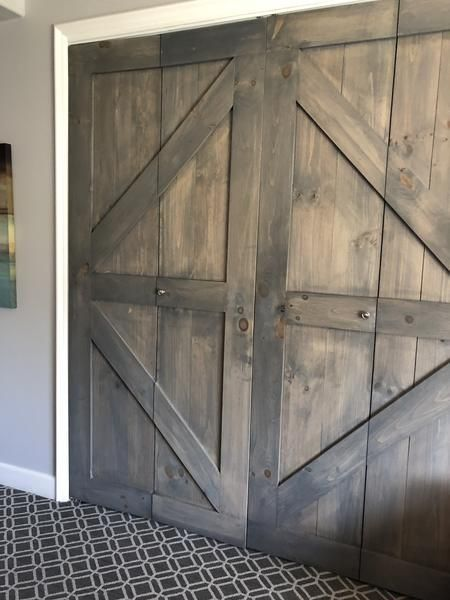 Add Design Elements To All Aspects Of Your Home Replace Your Standard White Pantry Or Closet Doors Barn Doors Sliding Sliding Barn Door Hardware Bifold Doors