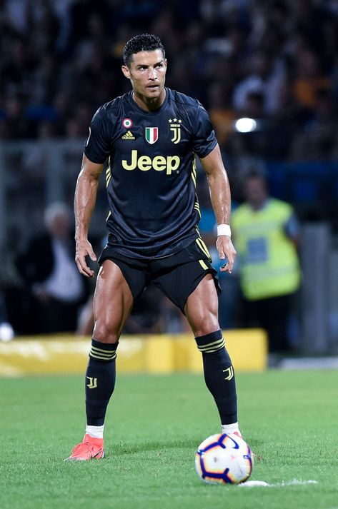 Cristiano Ronaldo of Juventus during the Serie A match between...