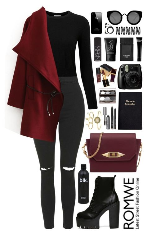 A fashion look from October 2015 featuring Pure Collection sweaters, Topshop jeans and Rebecca Minkoff rings. Browse and shop related looks.