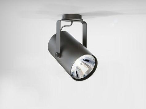 Phar by lucifero s faretto a led orientabile in alluminio estruso