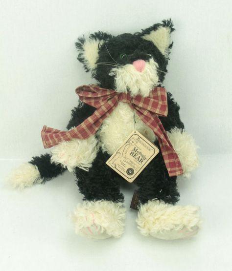 Boyds Bears SPIRO T CATTINGTON Mohair 590240-07 13.5