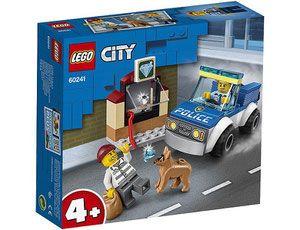 Lego City 60241 Oddzial Policyjny Z Psem In 2020 Lego City Police Lego City Lego City Police Sets