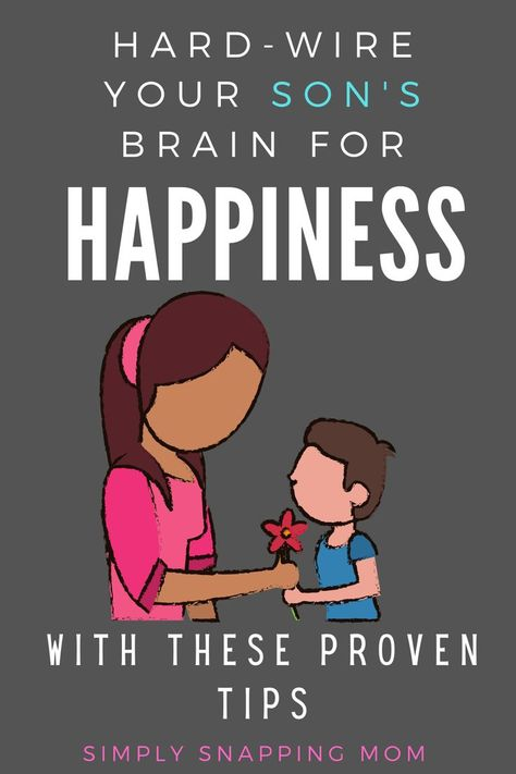 Science has proven that parents can actually hardwire their kids brain for a lifetime of happiness by doing these 5 simple things. Great tips for the boy mom raising boys to be gentlemen… More