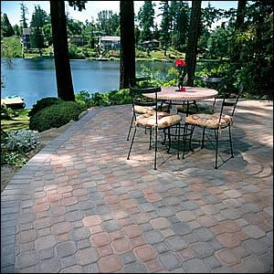 Uni Decor Pavers uni-decor concrete pavers | mutual materials | path, patio and