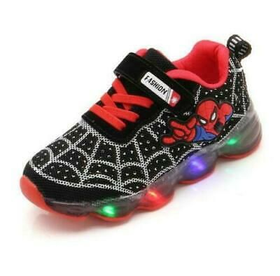 Spiderman LED Light Sneakers Trainers