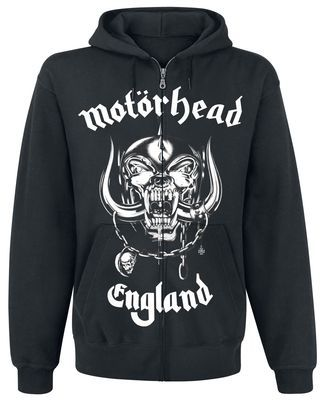 MOTORHEAD CHARCOAL HOODIES PUNK ROCK  MEN/'s SIZES