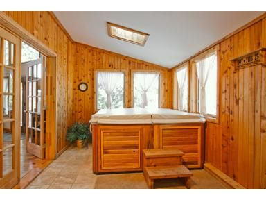 Indoor Hot Tub....hmmmm May Need A Bigger Window:) | Dreaming Of My Ranch |  Pinterest | Hot Tubs, Tubs And Window