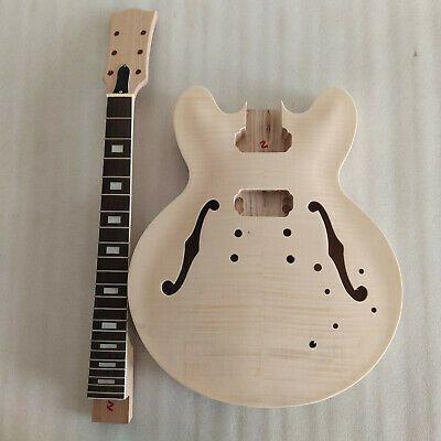 Hollow Body Diy Electric Guitar Kit Diy Guitar Es In 2020 Electric Guitar Kits Guitar Kits Guitar