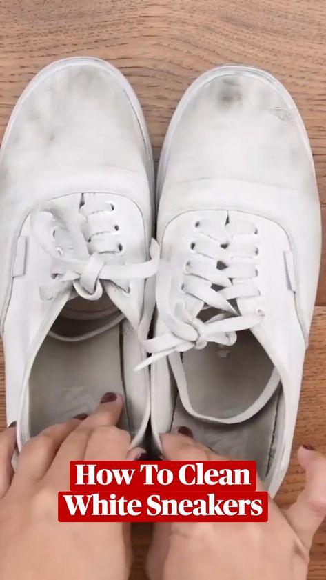 Clean White Sneaker Hacks