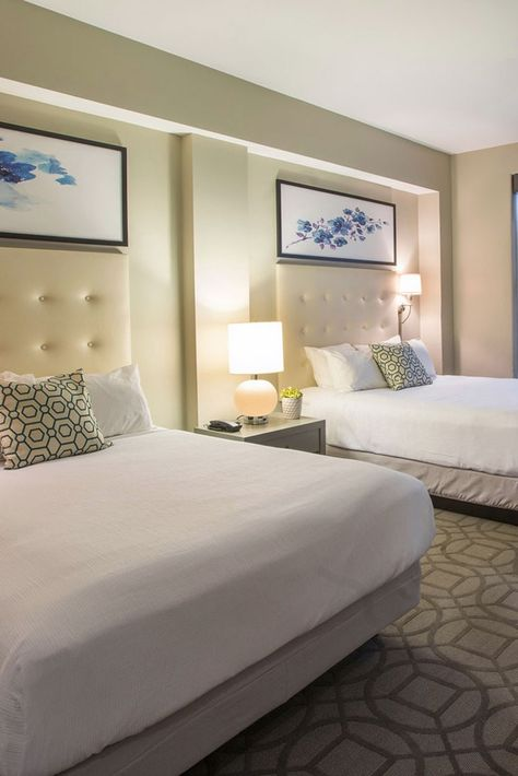 Magnolia Hotel Denver Denver Co Interior Design Home Decor Queen Beds