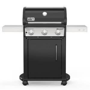 Weber Spirit E 315 3 Burner Liquid Propane Gas Grill In Black 46512001 The Home Depot In 2020 Propane Gas Grill Gas Grill Grilling