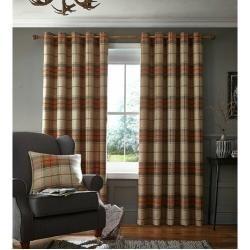 Gardinen Vorhange Floralbed Gardinen Vorhange In 2020 Orange Curtains Burnt Orange Curtains Bedroom Colors