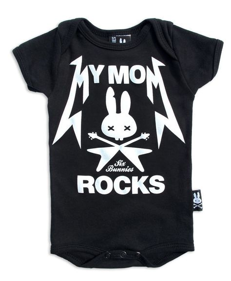 Mums Tattoos vest alternative baby clothes rock punk metal band Christmas gift