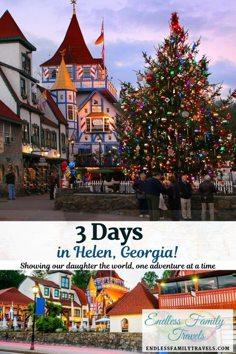 Spend 3 Days in Helen, Georgia, nestled in the Blue Ridge Mountains on the Chatt… – Travel Destinations Best Family Vacation Spots, Family Vacation Destinations, Vacation Ideas, Backpacking Europe, Bora Bora, Belfast, Belize, Travel With Kids, Family Travel