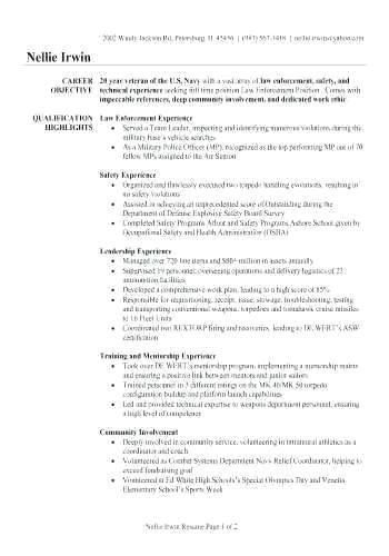 Military Veteran Resume Examples Military Resume Of Veteran Resume Related Post Best Resume Examples In Good Resume Examples Resume Examples Infographic Resume