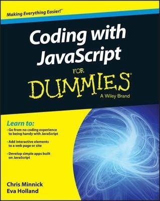 Coding with JavaScript for Dummies DOWNLOAD PDF/ePUB [Chris Minnick