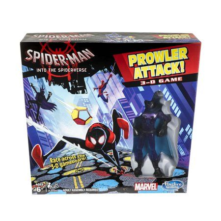 Spider Man Into The Spider Verse Prowler Attack 3 D Game Sold Exclusively At Walmart Walmart Com Marvel Spiderman Spider Verse Spiderman