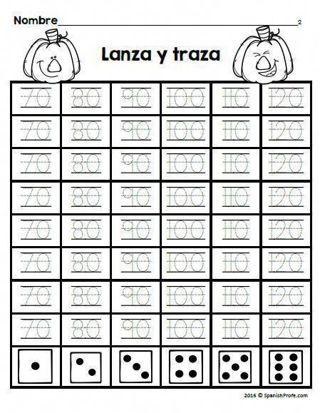 First Grade Fall Themed Math Worksheets Or Printables In Spanish Includes A Variety Of Math Sheets For Biling Bilingual Math Ways Of Learning Fall Themed Math