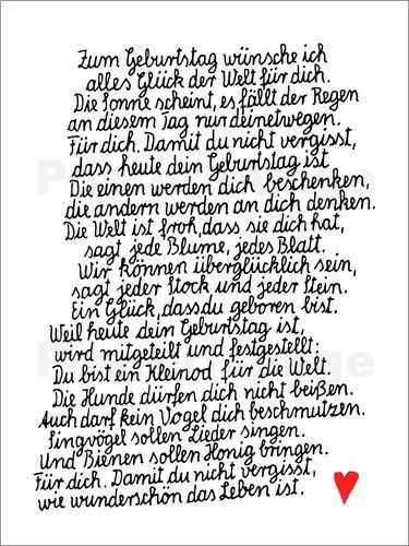 Geburtstag Zitate Bild Von Tanja Auf Geschenke