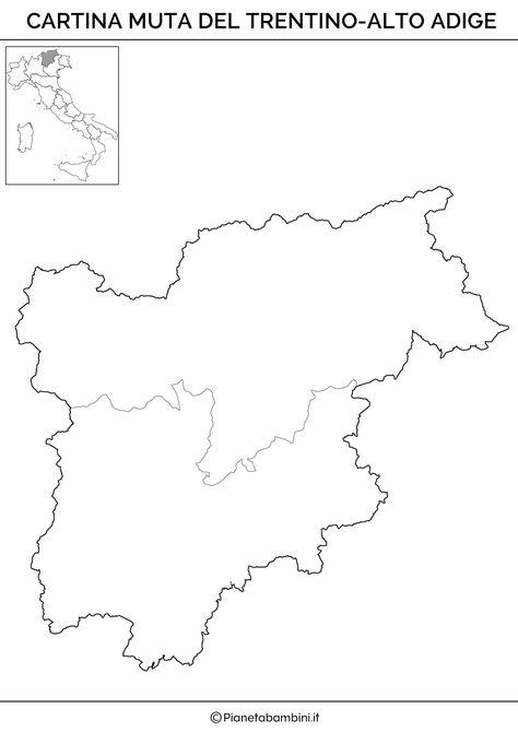 Cartina Geografica Muta Del Trentino Alto Adige.20 Idee Su Geografia Regioni Geografia Istruzione L Insegnamento Della Geografia