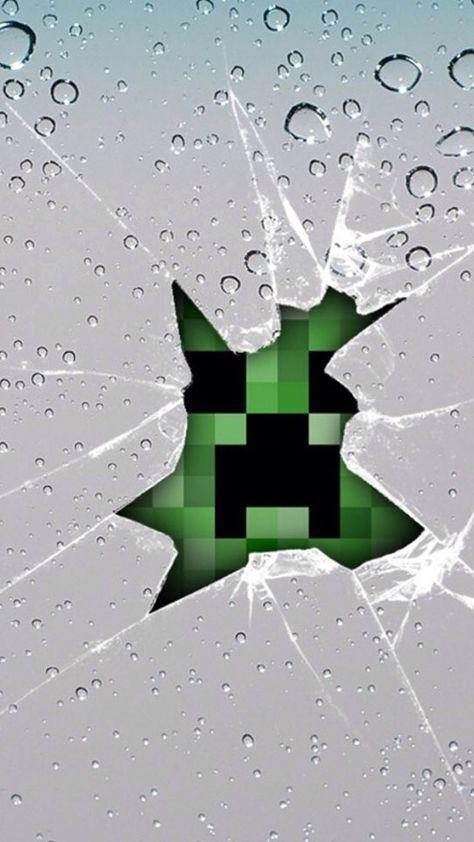 Apple Wallpaper Minecraft Wallpaper Creeper Minecraft Minecraft Images