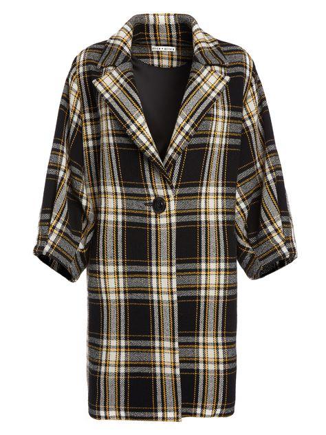 Alice Coat amp; Jackets Oversized Skirts Olivia Plaid Pinterest Lance zPxqP76O