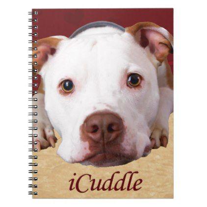 Icuddle Pitbull Notebook Zazzle Com Dog Training Near Me