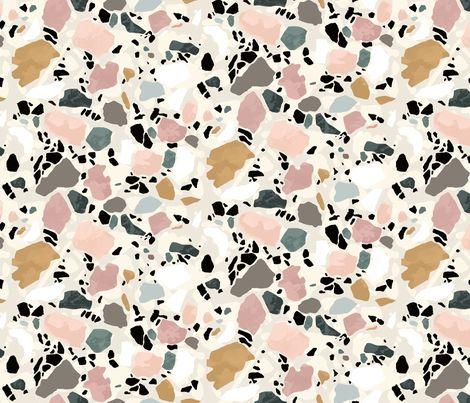 Terrazzo Postcard by Sylvia Takken - blush color inspiration