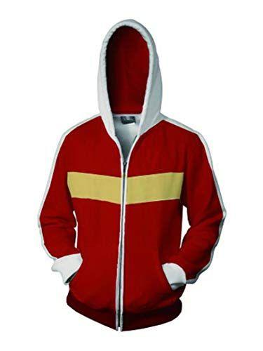 Legendary Defender Lance hoodie green coat cosplay costume jacket Voltron