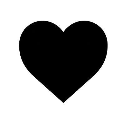 Untitled In 2020 Heart Wall Decal Black Heart Heart Wall