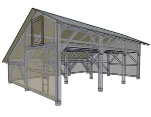 machine shed plans