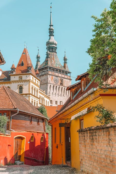 15 Best Things To Do In Sighisoara, Romania Travel Tips For Europe, Travel Around Europe, Travel Destinations, Budget Travel, History Of Romania, Romania Travel, Beaux Villages, Travel Goals, Eastern Europe