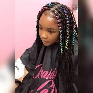 Hairstyles For Girls Black Box Braids 11
