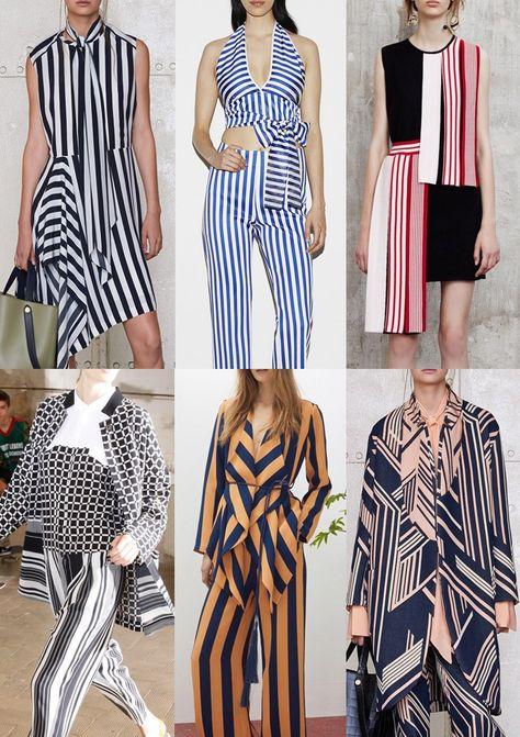 Pre Spring/Summer 2016 Catwalk Print & Pattern Trend Highlights Part 2 - Nautical Stripe