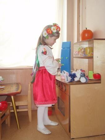 Как сшить  украинскую