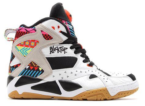 Reebok Blacktop Battleground Tribal Pump | Sneakers, Pump