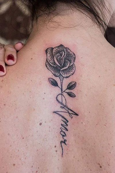 63 Creative Neck Tattoos For Women Page 1 Of 16 Neck Tattoo Neck Tattoos Women Rose Tattoos On Wrist
