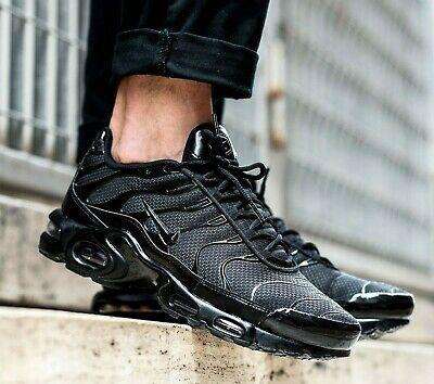 New NIKE Air Max Plus TN classic Men's Athletic Sneakers triple ...