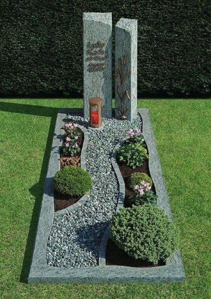 Beispiel U Muster Einzelgrabmale Einzelgrabmal Einzelgraber Einzelgrab Einzelgrabstein Steinmetz Alexa Grabgestaltung Gartengestaltung Ideen Bepflanzung