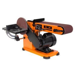 Jet 1 5 Hp 6 In X 48 In Belt And 12 In Disc Sander With Closed Stand 115 230 Volt Jsg 6cs 708598k The Home De Woodworking Table Saw Woodworking Equipment