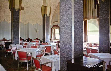 Decopix - The Art Deco Architecture Site - Cloud Club (demolished) Chrysler Building, NYC